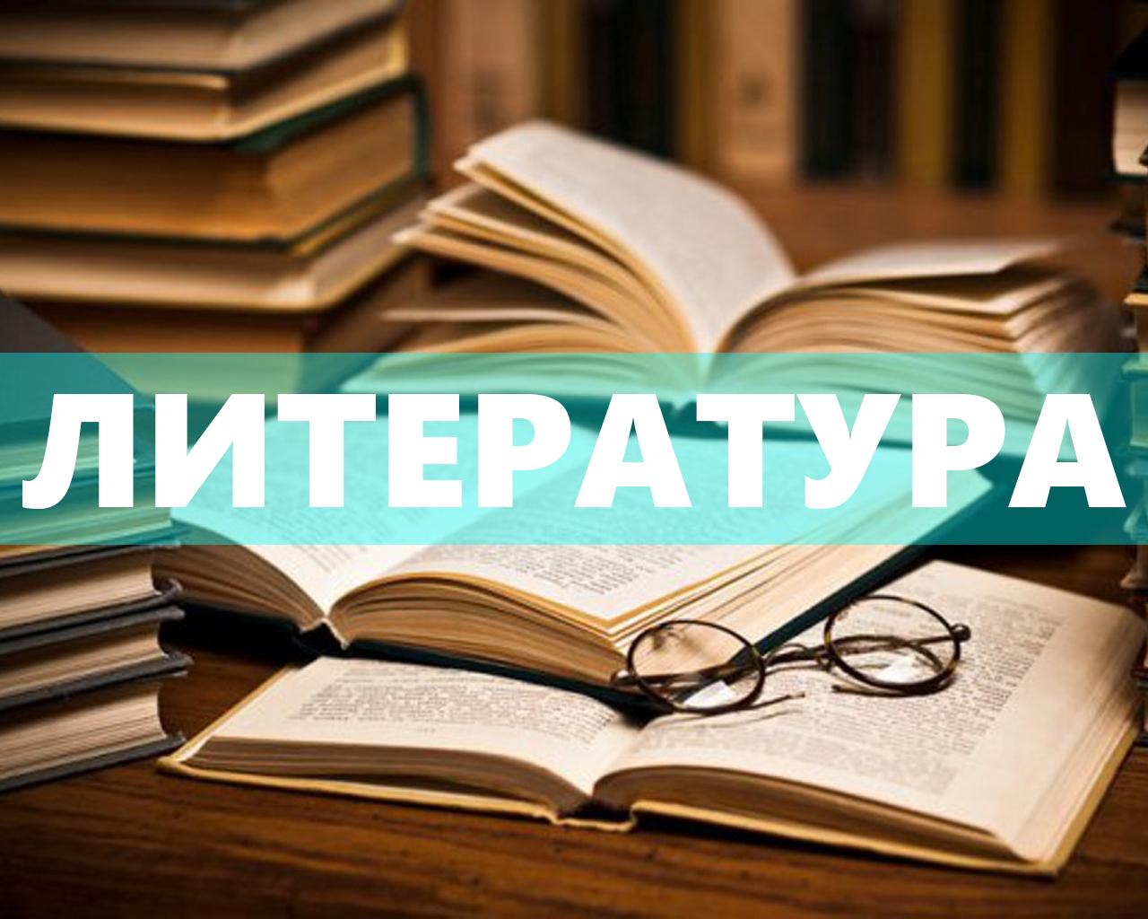 Литература (Башлыков Д. Н.)